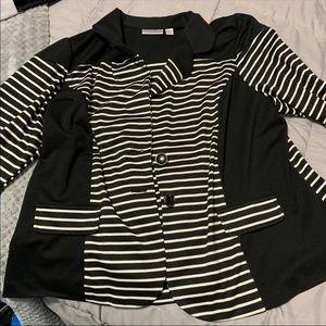 Avenue Women's Striped Blazer